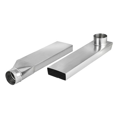 Space Saving Aluminum Dryer Vent Duct Is Ideal For Use In Tight Clothes Dryer Installations The Duct Allows For The D Dryer Vent Dryer Duct Indoor Dryer Vent
