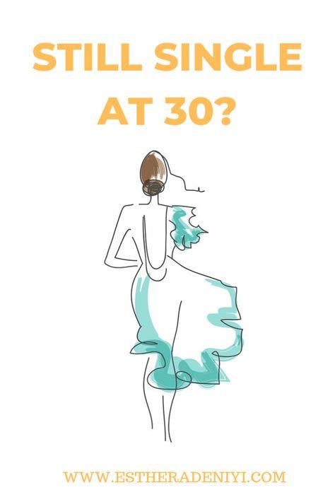 Mit 30 noch single mann