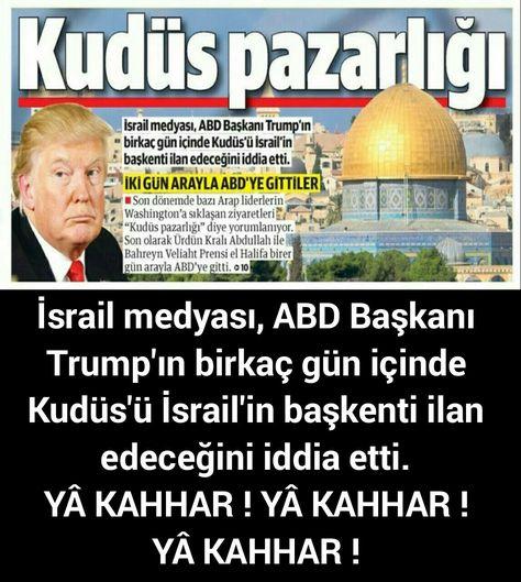 p #Filistin #Kudüs #Trump #Medya...