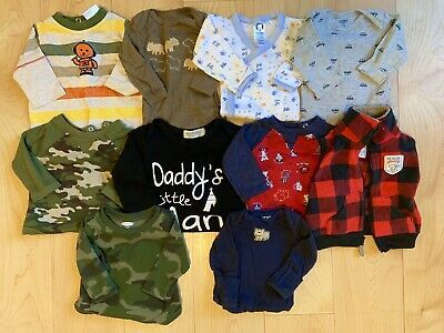 Advertisement Ebay Baby Boy Clothes Lot 0 3 Months Carter S Onesies Shirts Tops Baby Boy Outfits Boy Outfits Baby Boy Pants