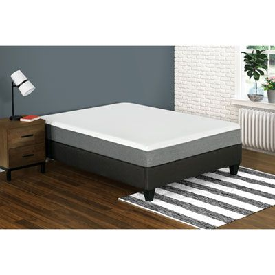 My Style Collection Leila 10 Very Firm Gel Memory Foam Mattress Twin Single Queen Memory Foam Mattress Foam Mattress Mattress