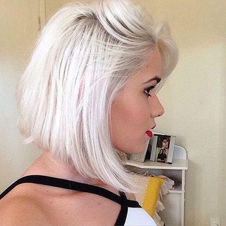 30 Short Platinum Blonde Hairstyles Short Hairstyles 2018