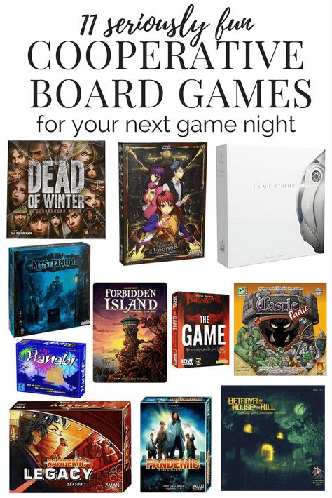Favorite Cooperative Board Games – Love & Renovations
