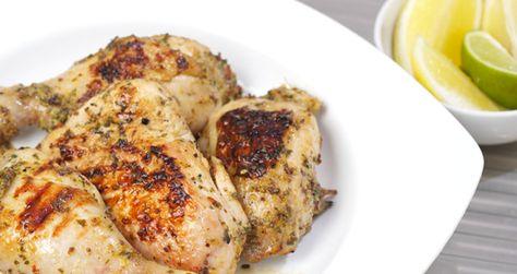 Chicken with orange and ras el