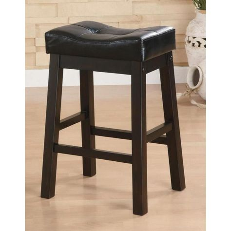 Miraculous Palermo 2 Piece Bar Stool Palermo Bar Stool 29 Inch Black Gmtry Best Dining Table And Chair Ideas Images Gmtryco