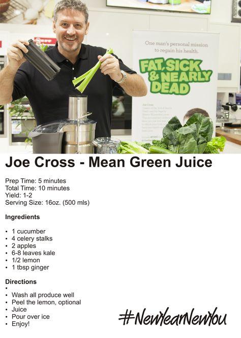 Joe Cross's Mean Green Juice