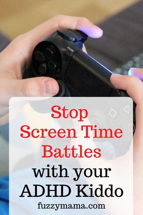 Stop Screen Time Battles
