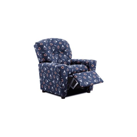 Terrific Kidz World Chicago Bears Recliner Kids Recliner Found On Ocoug Best Dining Table And Chair Ideas Images Ocougorg