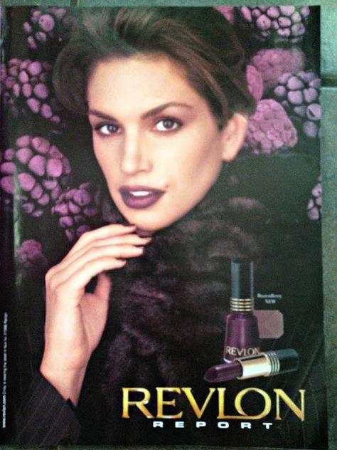 Fuck Yeah Nostalgic Beauty Products, Revlon Print Ad, 1998