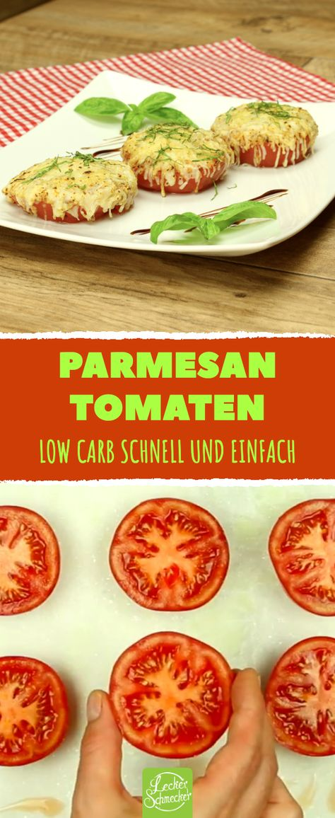 "Ganz leicht zu machen und sooo lecker: gebackene Parmesan-Tomaten. #rezept #rezepte #tomaten #gemüse #lowcarb       ""t is cooked on both sides on the grill. Cooked chickens are placed on the field. Pour chicken broth over a low heat for 10 minutes. Cooked. It is taken from the fire and served hot by sprinkling thyme on it. Kebabs cooked on the grill by passing the bottle prepared from meat or minced meat or meatballs cooked on the grill after preparing it by shap... #carb #PARMESAN #Tomaten"