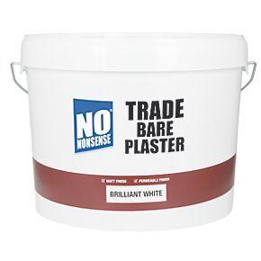 No Nonsense Trade Bare Plaster Paint Brilliant White 10ltr Plaster Paint Plaster Nonsense