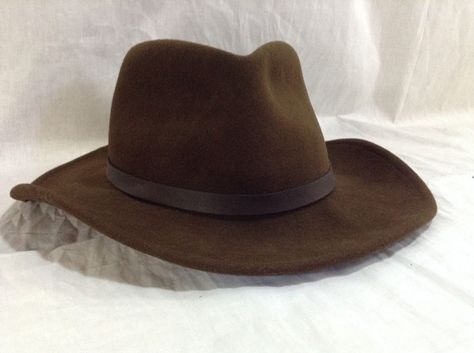 f1b069585566a Safari Hat Indiana Jones Style Full Brim Cap Crushable 100% Wool Outdoors  Hat  CAP  Panama