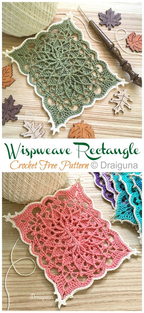 Wispweave Lace Doily Crochet Free Patterns - Crochet & Knitting Wispweave Lace Doily Crochet Free Patterns - Crochet & Knitting Record of Knitting Yarn rotating, weaving and sewing car. Free Crochet Doily Patterns, Crochet Blocks, Lace Patterns, Crochet Squares, Free Pattern, Crochet Coaster, Granny Squares, Crochet Tablecloth Pattern, Crochet Doily Diagram