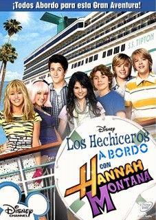 Hechiceros A Bordo Con Hannah Montana Películas Viejas De Disney Películas De Adolescentes Peliculas De Disney Lista