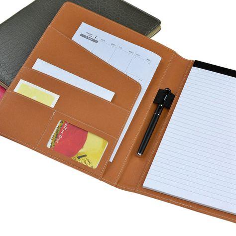 professional-font-b-handmade-b-font-pu-leather-A4-folder-executive - leather resume folder