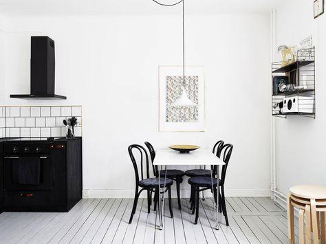 ruang makan bergaya skandinavia | interior, ide dekorasi