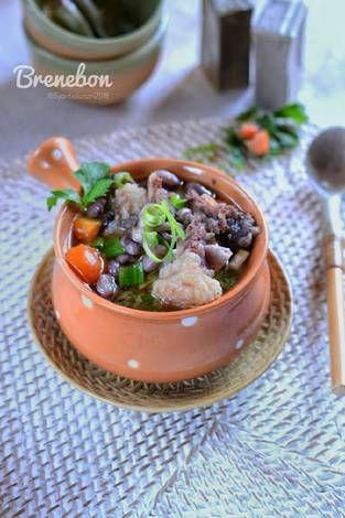 Resep Sup Iga Kacang Merah Brenebon Masakan Manado Menado Oleh Syanti Ekasari Resep Masakan Kacang Merah Memasak