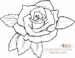 Okul Oncesi Gul Boyama Ile Ilgili Gorsel Sonucu Boyama Kitaplari Adult Coloring Pages Ve Renkli Dovmeler