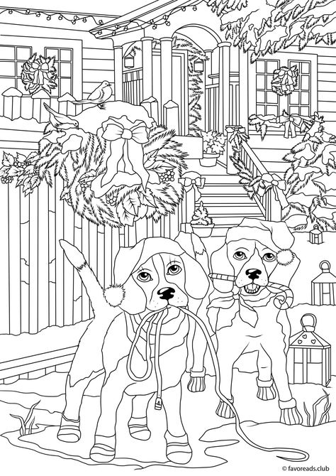Pin By Sharon Melvin On Christmas Pictures To Color Coloring