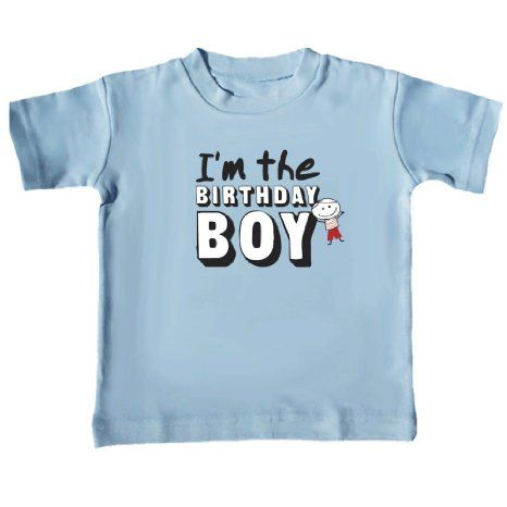 Amazon Birthday Boy T Shirt Size 12 18 Months Baby