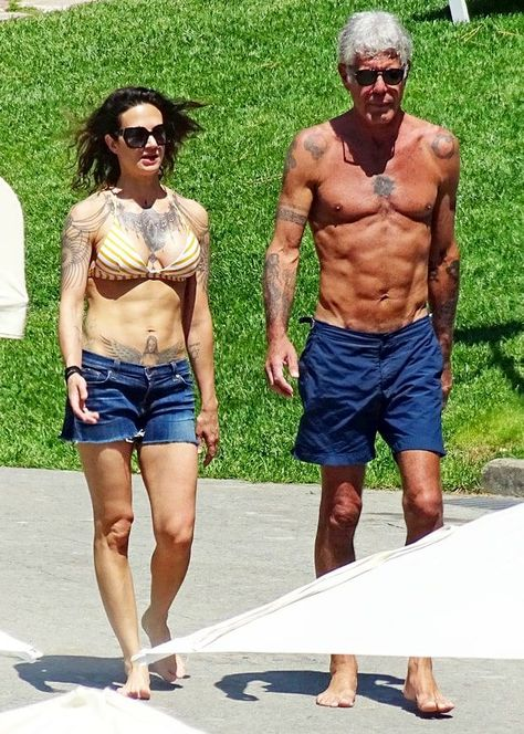 A Moment Of Silence For Anthony Bourdain's Absolutely Ridiculous SixPack is part of Anthony bourdain girlfriend - All that jiujitsu pays off