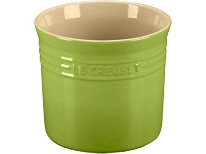 Le Creuset Stoneware Large 2 3 4 Quart Utensil Crock Kiwi Review