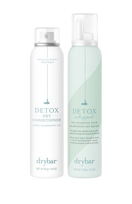 Drybar Detox 2 Piece Dry Conditioner Whipped Dry Shampoo Foam Set Valued At 47 Only 24 Dry Shampoo Dry Conditioner Shampoo