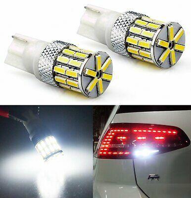 Jdm Astar 2x T10 White 4014 Smd Led License Dome Marker Lights Bulbs 194 168 Ebay In 2020 Led Headlights Lights Led Light Bulb