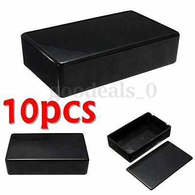 Sponsored Ebay 10pcs Electronic Enclosure Instrument Project Case Box Abs Plastic Electronics Projects Enclosure Abs