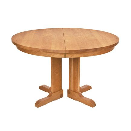 Vermont Traditions Split Pedestal Extension Table In 2019