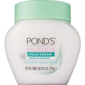 Pond S Fragrance Free Cold Cream 6 1 Oz Fragrance Free Products Cold Cream Ponds Cold Cream