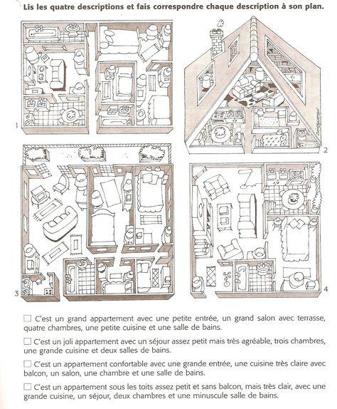 pieces+maisonjpg (1410×662) La maison Pinterest