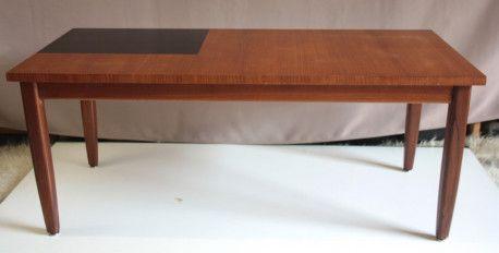 Table Basse Scandinave En Teck Vintage Vintagestyle Table Teck