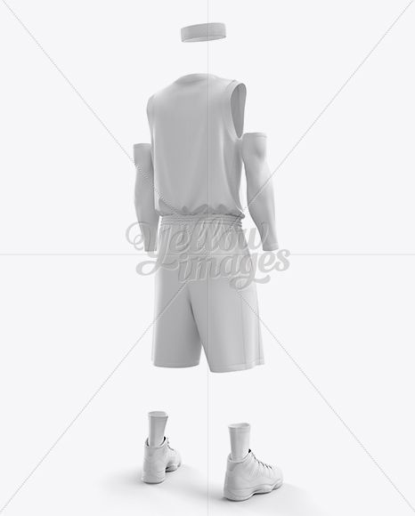 Download Men S Full Basketball Kit With V Neck Jersey Mockup Hero Back Shot In Apparel Mockups On Yellow Images Object Mockups Clothing Mockup Basketball Kit Mockup Free Psd