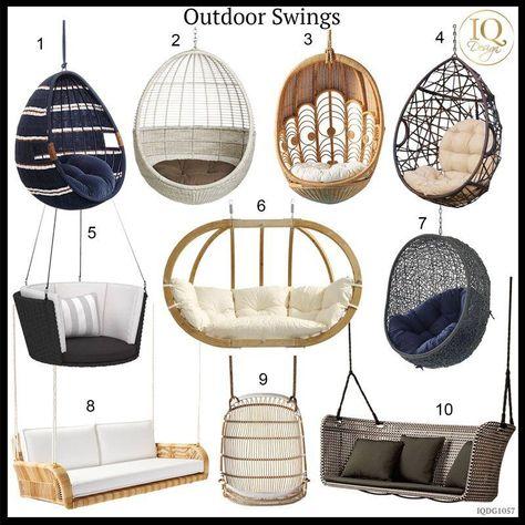 Muebles para sala de jardín