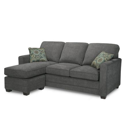 Simmons Stirling Queen Sofa Bed With Chaise Condo Living Room