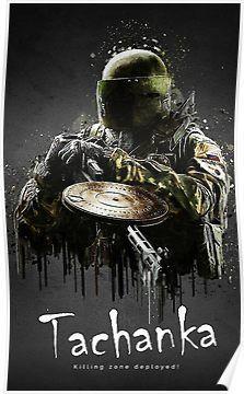 Tachanka Poster By Carolynxruzicka 4k Rainbow Six Siege Poster Rainbow Wallpaper Rainbow Six Siege Art