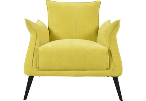 Berrow Yellow Accent Chair Accent Chairs For Living Room Yellow