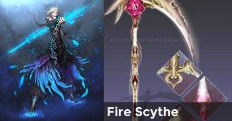 12++ Magic scythe information