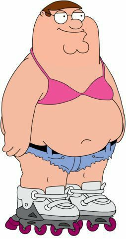 Family Guy Peter Griffin In Girls Clothes Family Guy Peter Griffin Family Guy Cartoon Family Guy Funny