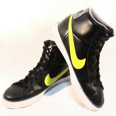 Nike Mens High Top Basketball Shoes Size 12 Black Gray... in ...