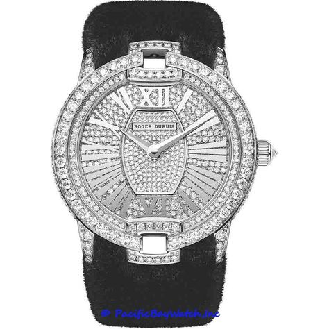 Let us introduce you absolutely new and totally seductive luxury watches from Roger Dubuis! Velvet Haute Couture Mink Fur, Corsetry and Passementerie models