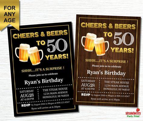 50th Birthday Invitations Online