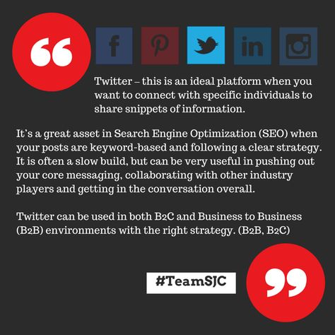 Refining Tools in Twitter For Businesses to Reach Your Target Audience | SJC Marketing