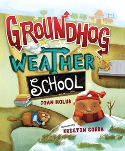"""Read Groundhog Weather School for free online from @WeGiveBooks. """"...kids are drawn in by the thoroughly engaging tale while they learn fun facts about different animals (groundhogs in particular), seasons, weather, and predicting the weather."""""""