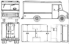 CAR Blueprints 1990 Chevrolet Step Van