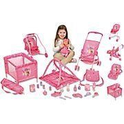 BLACK FRIDAY BLOWOUT GIRLS BEST 28 PIECE 28-pc Doll Play Set REGULAR PRICE…