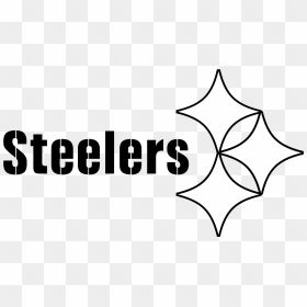 Steelers Logo Black And White Logos And Uniforms Of The Pittsburgh Steelers Hd Png Download Steelers Logo P Black And White Logos Steelers Black And White