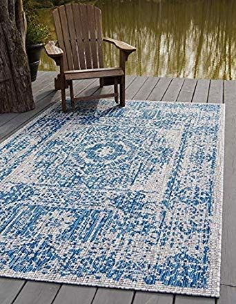 Best Outdoor Rugs Area Rugs Unique Loom Blue Area Rugs