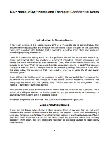Pin On Soap Note Counselling Template